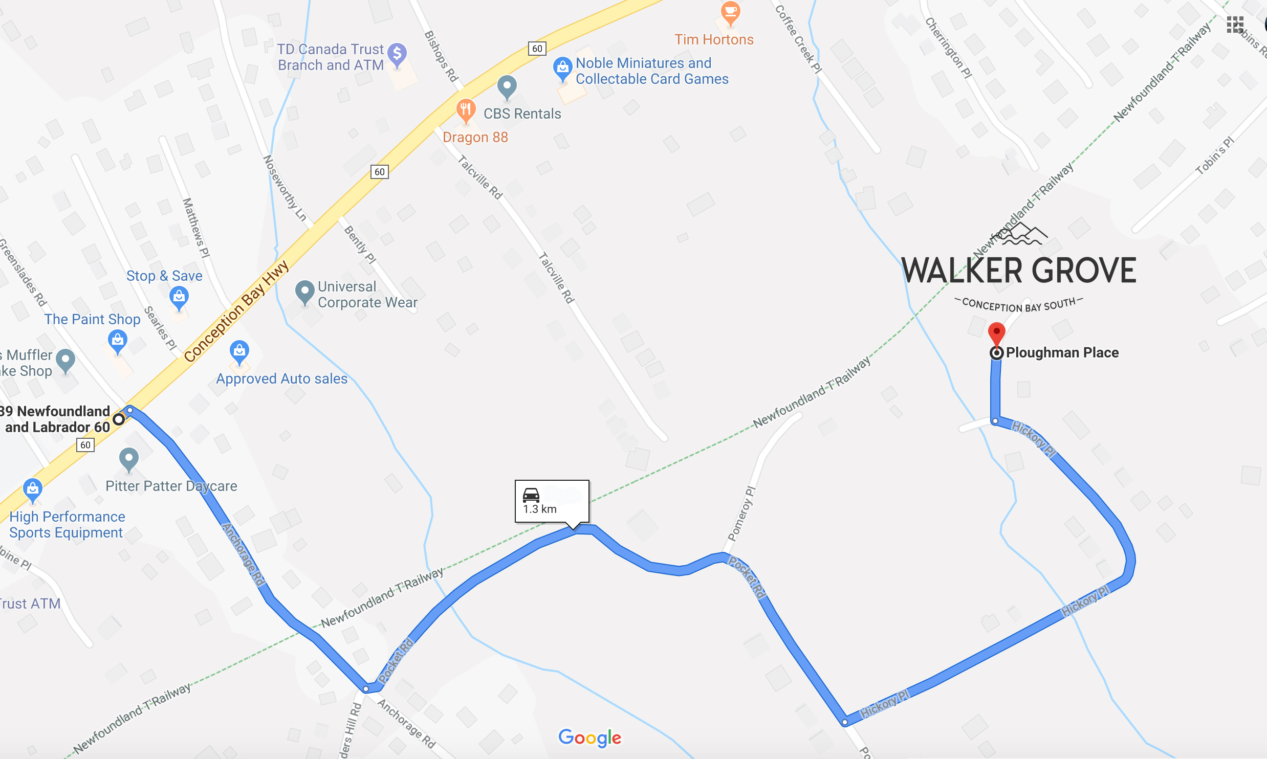 Walker Grove Location